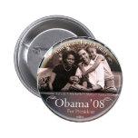 Familia de Obama - botón