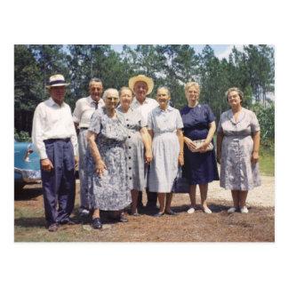 Familia de Robinson (Maria y niños) Postal