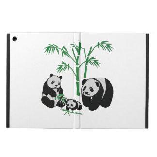 Familia del oso de panda