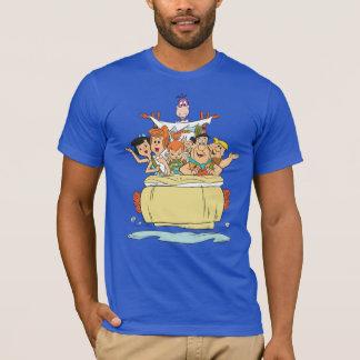 Familia Roadtrip de los Flintstones Camiseta
