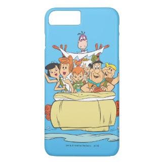 Familia Roadtrip de los Flintstones Funda iPhone 7 Plus