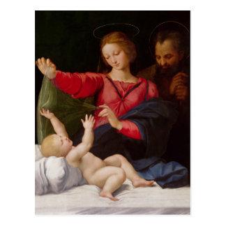 Familia santa La Madone de Lorette Postal