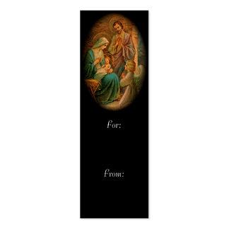 Familia santa tarjetas de visita mini
