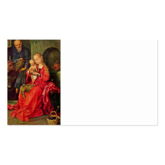 Familia santa tarjetas de visita