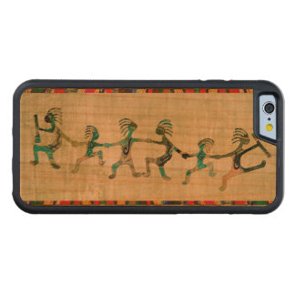 Familiy divertido de KOKOPELLI + sus ideas Funda De iPhone 6 Bumper Cerezo