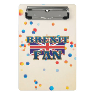 Fan de Brexit de la CAMISETA Minicarpeta De Pinza