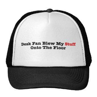Fan del escritorio gorras de camionero
