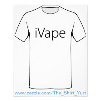 fan electrónica del cigarrillo de Vaping del iVape Folleto 11,4 X 14,2 Cm