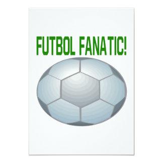 Fanático de Futbol Invitación 12,7 X 17,8 Cm
