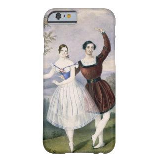 Fanny Cerrito (1817-1909) y Sigr. Guerra, en Funda Barely There iPhone 6