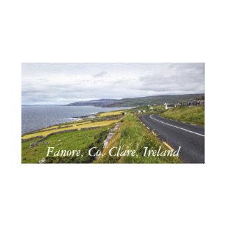 Fanore, Co lona de Clare, Irlanda Lienzo