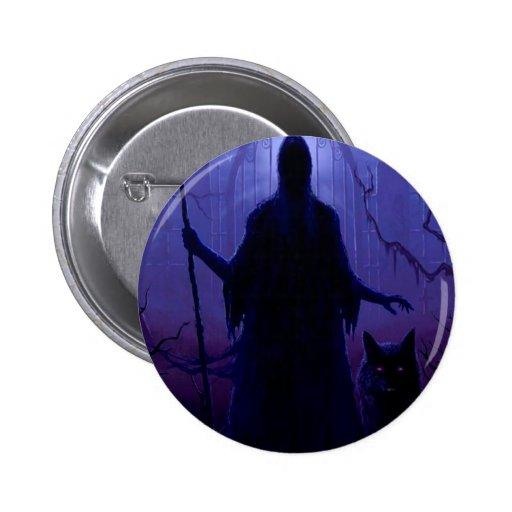 Fantasía abstracta Shepard de la muerte Pins