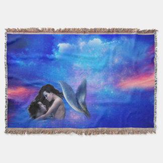 Fantasía de la sirena manta