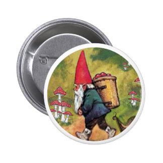 Fantasía de las setas del caracol de la cesta de A Chapa Redonda 5 Cm
