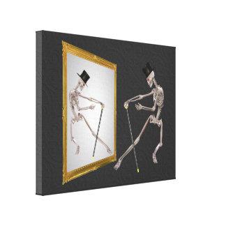 Fantasía del esqueleto del baile