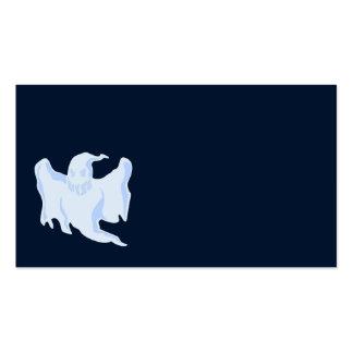 Fantasma azul asustadizo tarjetas de visita