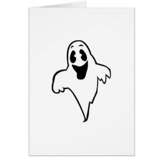 Fantasma de Halloween Tarjeta