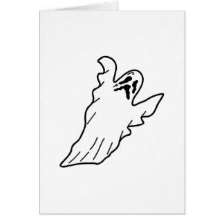 Fantasma de Halloween Felicitación