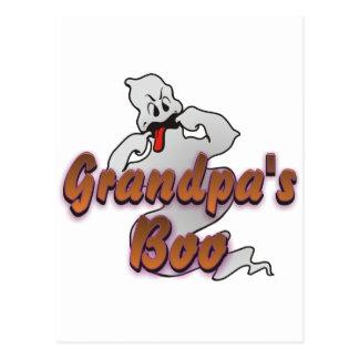 Fantasma de Halloween del abucheo del abuelo Postal