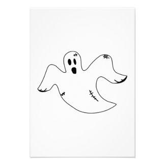 Fantasma de Halloween Invitacion Personalizada
