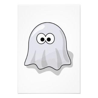 Fantasma de Halloween Comunicado Personalizado
