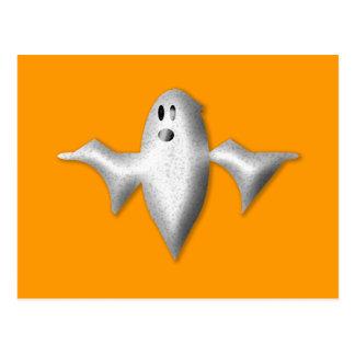 Fantasma de Halloween Postal