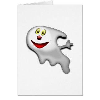 Fantasma de Halloween Tarjetas