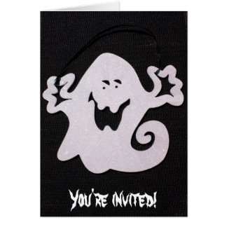 Fantasma de Halloween Tarjeta De Felicitación