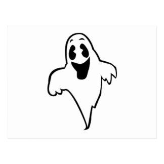 Fantasma de Halloween Tarjeta Postal