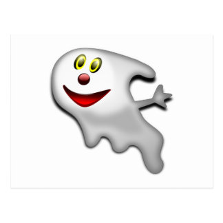 Fantasma de Halloween Tarjetas Postales