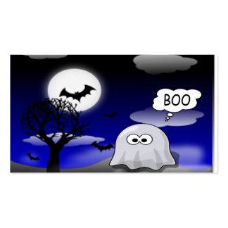 Fantasma de Halloween Tarjetas De Visita