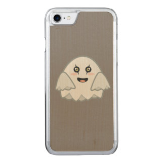 Fantasma de Kawaii Funda Para iPhone 8/7 De Carved