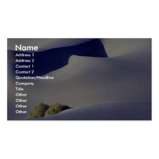 Fantasma de la duna tarjeta de visita