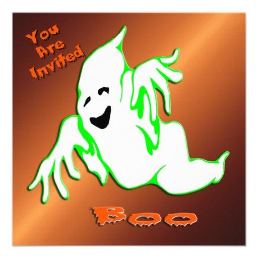 Fantasma del abucheo 1 invitación de Halloween