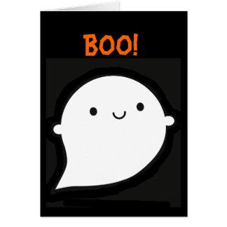 Fantasma fantasmagórico de Wooky Halloween Felicitacion