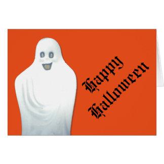 Fantasma feliz Halloween Tarjeta De Felicitación