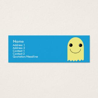 Fantasma - flaco tarjeta de visita pequeña