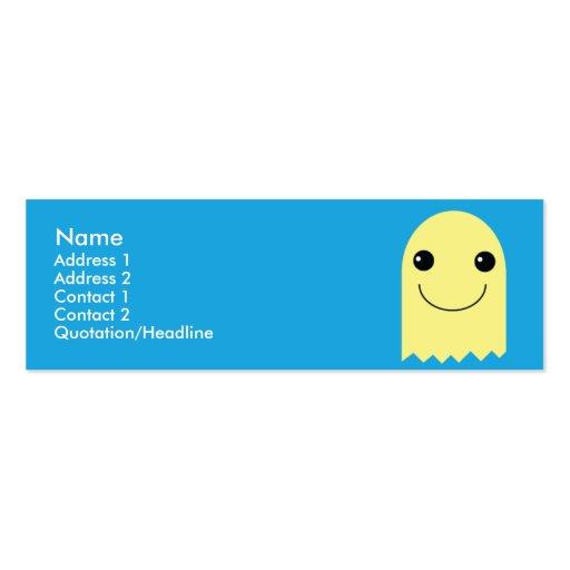 Fantasma - flaco tarjeta de visita
