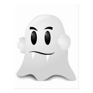 Fantasma Halloween Postal