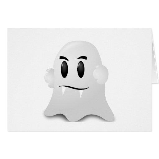 Fantasma Halloween Felicitaciones