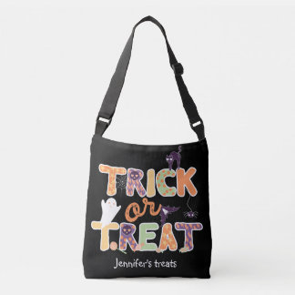 Fantasma lindo Halloween del truco o de la Bolso Cruzado