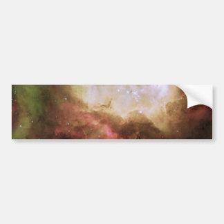 Fantasma misterioso en la nebulosa de Carina Pegatina Para Coche