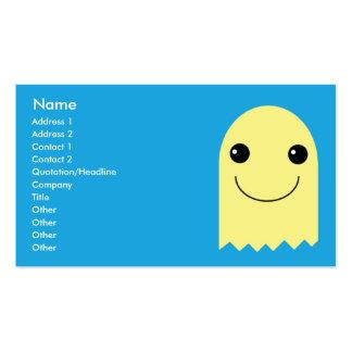 Fantasma - negocio tarjetas de visita