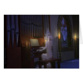 Tarjeta Fantasma que juega la tarjeta del órgano