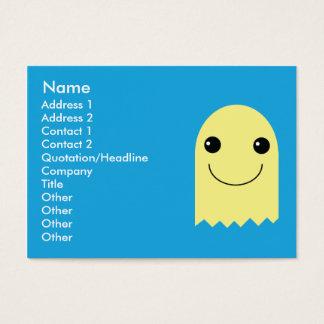 Fantasma - rechoncho tarjeta de negocios