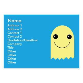 Fantasma - rechoncho plantillas de tarjetas de visita