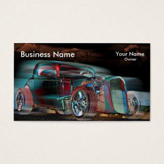 Fantasma tostado tarjeta de negocios