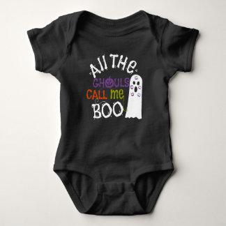 Fantasma y camiseta lindos de Halloween de los