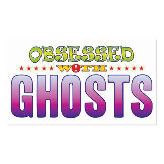Fantasmas 2 obsesionados tarjetas de visita