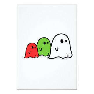 Fantasmas de Halloween Invitación